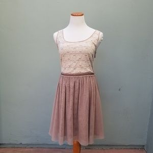 Lauren Conrad Lace Feminine Dress